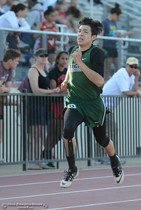 Friday, April 21, 2017, during he West Valley Invitational at Harrison Stadium in Oroville, California. (Dan Reidel -- Enterprise-Record)