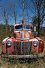 Abandoned Ford firetruck  in Jackson Co, WV.