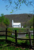 Old church along Catholic Church Road in Greenbrier Co, WV.