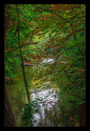 """This beautiful stream is located down a quiet road in West Virginia. I came upon it while exploring the back roads. Always take the """"road less traveled"""" when photographing!"""