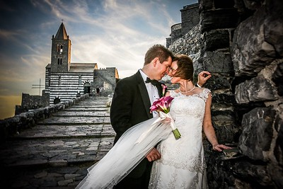 Christine & Matt Portovenere Italy Wedding