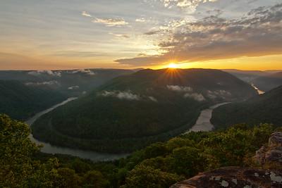A Grandview of a  Sunrise