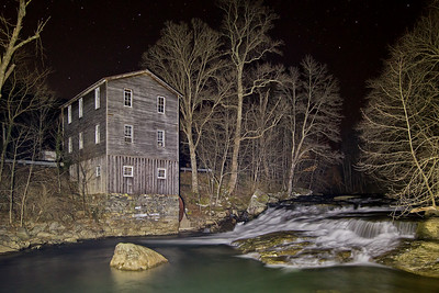Fidler's Mill at Night