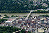 Downtown morgantown bridge to Westover