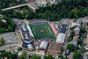 Aerial of MHS football field and school