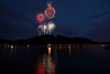 Fireworks at Cheat Lake