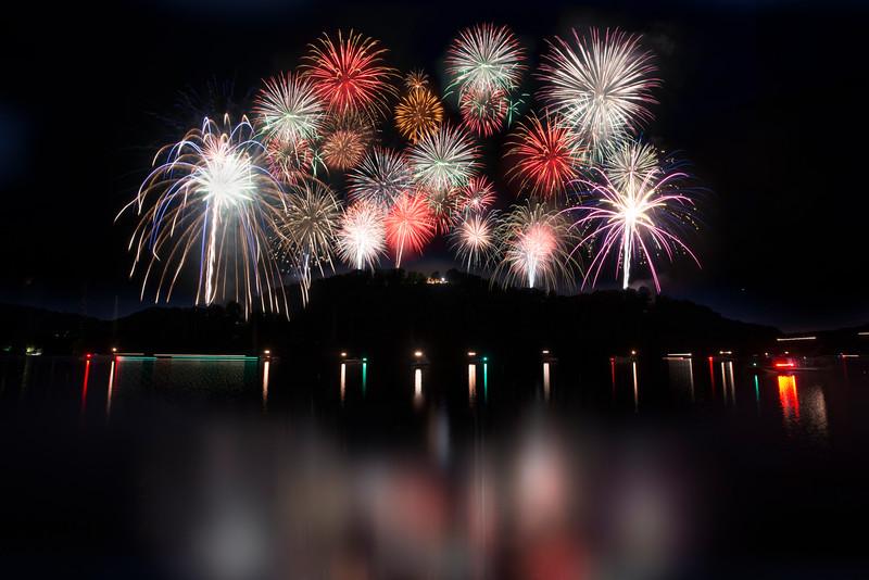 Major fireworks