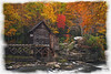 "Grist Mill on Glade Creek watercolor borders.....................................to purchase - <a href=""http://bit.ly/1pECqci"">http://bit.ly/1pECqci</a>"