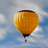 Wind driven balloon
