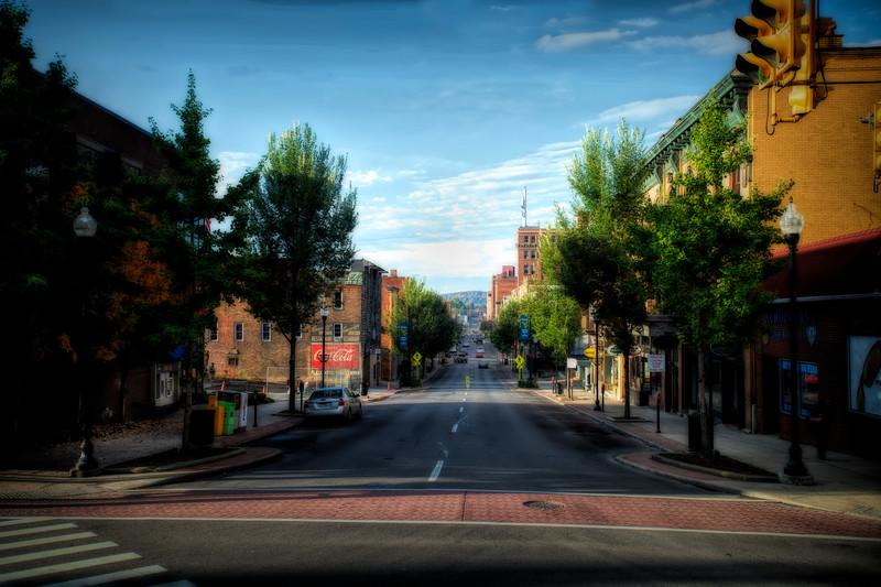 Morgantown high street