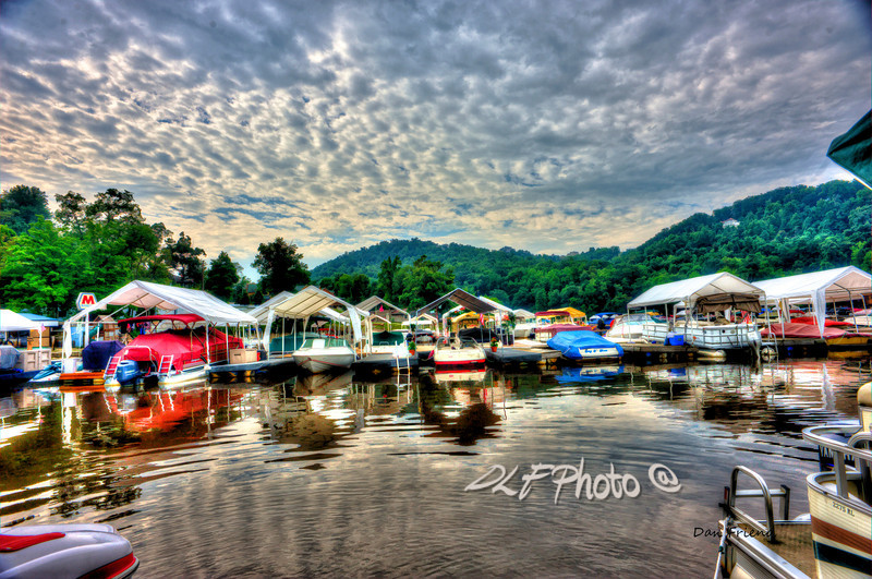 """Marina At Cheat Lake<br /> <br /> Framed, metal, canvas order at this website - <a href=""""http://fineartamerica.com/featured/marina-at-cheat-lake-dan-friend.html"""">http://fineartamerica.com/featured/marina-at-cheat-lake-dan-friend.html</a>                                                             .............................................pixel paintography"""