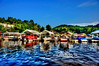 """Marina At Cheat Lake Clear Day<br /> <br /> Framed, metal, canvas order at this website - <a href=""""http://fineartamerica.com/featured/marina-at-cheat-lake-clear-day-dan-friend.html"""">http://fineartamerica.com/featured/marina-at-cheat-lake-clear-day-dan-friend.html</a>                                                             .............................................pixel paintography"""