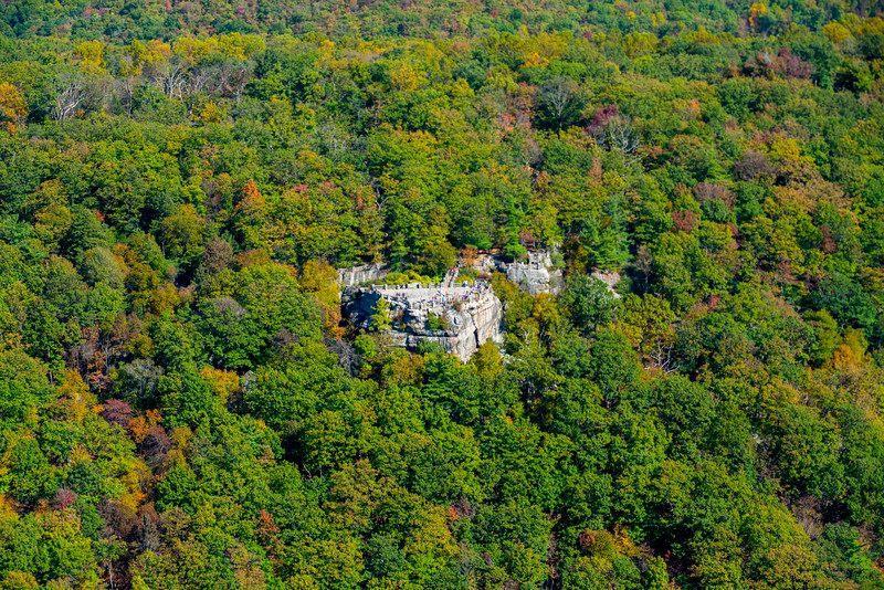 Aerial photos of Coopers Rock