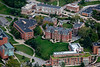 Aerial of Woodburn Hall downtown campus