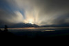 Big sky in the morning in the mountains 1