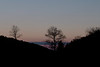 Morning sky at Spruce Knob Lake