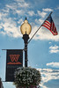 Light post with Wesleyan banner in Buckhannon, WV........................................to purchase e mail DFriend150@gmail.com