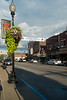 Light pole with flowers Buckhannon WV....Building with flowers Main Street Buckhannon WV........................................to purchase e mail DFriend150@gmail.com