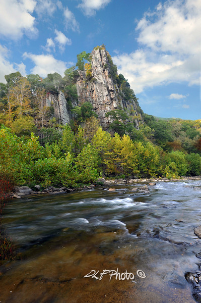 Stream in West Virginia - the North Fork of the South Branch Potomac