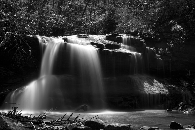 Upper Falls waterfall at Holly River State Park...........................................Prints or digital files can be purchased by e mailing DFriend150@gmail.com