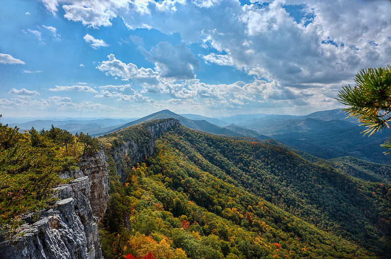 View from Chimney Rock on North Fork Mountain ...........................................Prints or digital files can be purchased by e mailing DFriend150@gmail.com