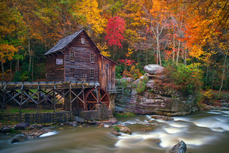 """In Fall Grist Mill on Glade Creek........................to purchase - <a href=""""http://bit.ly/1qz1aO0"""">http://bit.ly/1qz1aO0</a>"""