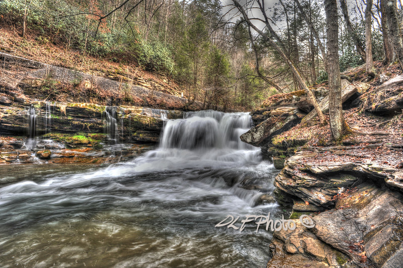 """Small stream in WV.<br /> <br /> To purchase - <a href=""""http://fineartamerica.com/featured/stream-near-thurmond-wv-dan-friend.html"""">http://fineartamerica.com/featured/stream-near-thurmond-wv-dan-friend.html</a>                                                             .............................................pixel paintography"""