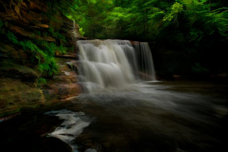 "Kennedy Falls on North Fork River near Thomas, WV..........................................to purchase - <a href=""http://bit.ly/1qo2qZn"">http://bit.ly/1qo2qZn</a>"
