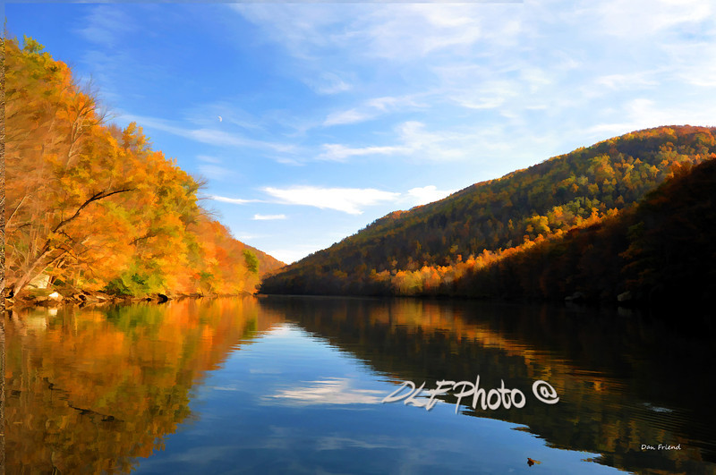 "Head Waters Cheat Lake In Fall<br /> <br /> Framed, metal, canvas order at this website -          ............................................... <a href=""http://dan-friend.artistwebsites.com/featured/head-waters-cheat-lake-in-fall-dan-friend.html"">http://dan-friend.artistwebsites.com/featured/head-waters-cheat-lake-in-fall-dan-friend.html</a>                                                             .............................................pixel paintography"