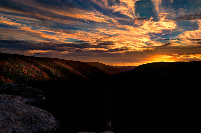 """Sunset at Lindy Point at Blackwater Falls State Park.............................................to purchase - <a href=""""http://bit.ly/1stke4x"""">http://bit.ly/1stke4x</a>"""