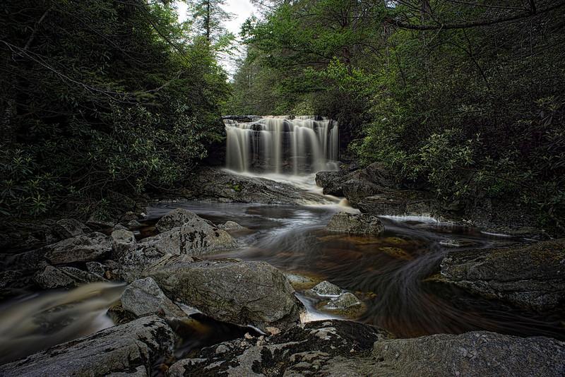 "West Virgina waterfalls Jornkbramann Waterfalls upper on Big Run stream.............................to purchase - <a href=""http://bit.ly/1lMLloX"">http://bit.ly/1lMLloX</a>"
