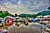 "Marina At Cheat Lake<br /> <br /> Framed, metal, canvas order at this website - <a href=""http://fineartamerica.com/featured/marina-at-cheat-lake-dan-friend.html"">http://fineartamerica.com/featured/marina-at-cheat-lake-dan-friend.html</a>                                                             .............................................pixel paintography"