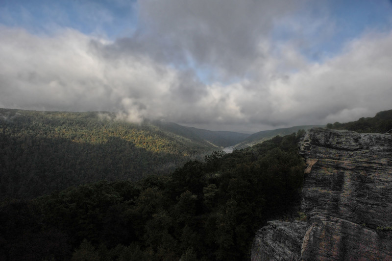 View from Raven Rock at Coopers Rock .                                                   Prints or digital files can be purchased by e mailing DFriend150@gmail.com