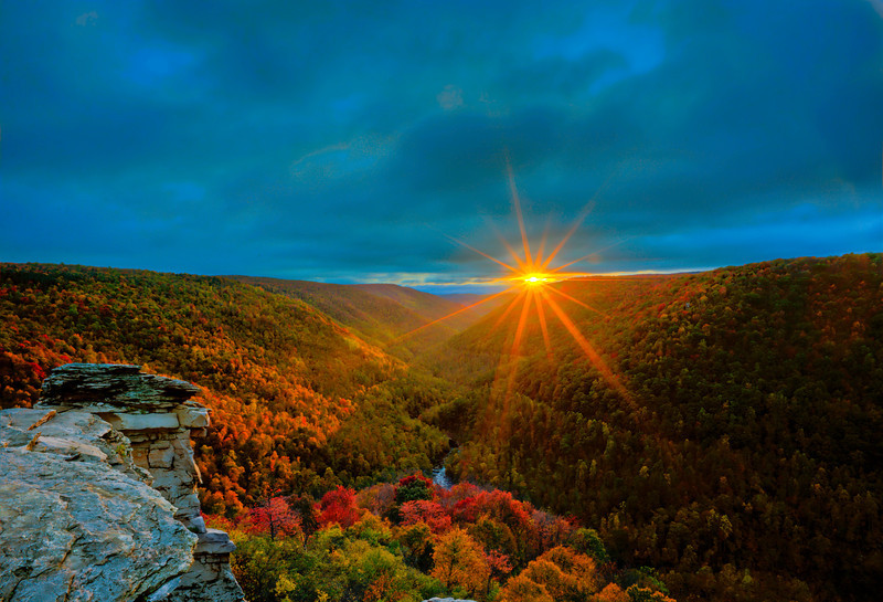 """West Virginia sunset in Fall<br /> <br /> to purchase - <a href=""""http://dan-friend.artistwebsites.com/featured/west-virginia-sunset-in-fall-dan-friend.html?newartwork=true"""">http://dan-friend.artistwebsites.com/featured/west-virginia-sunset-in-fall-dan-friend.html?newartwork=true</a>                                                             .............................................pixel paintography"""