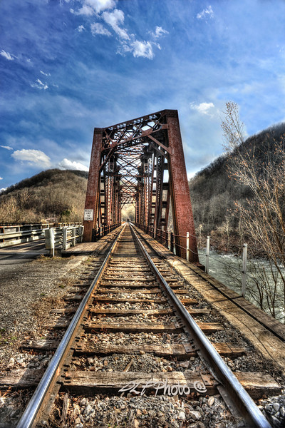 "Bridge into Thurmond<br /> <br /> to purchase - <a href=""http://fineartamerica.com/featured/railroad-bridge-into-thurmond-wv-dan-friend.html"">http://fineartamerica.com/featured/railroad-bridge-into-thurmond-wv-dan-friend.html</a>                                                             .............................................pixel paintography"