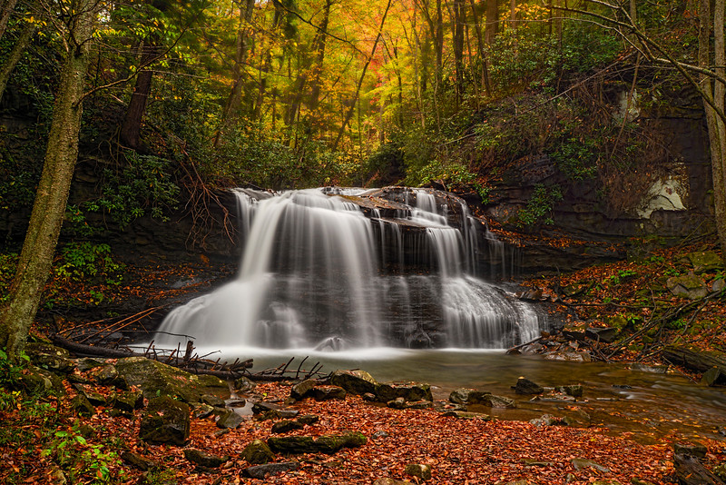 """Fall photo of Upper Waterfall on Holly River................................toi purchase - <a href=""""http://bit.ly/1wnJ1r0"""">http://bit.ly/1wnJ1r0</a>"""