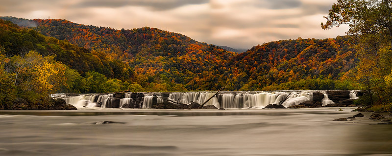 """panoramic of Sandstone Falls in the Fall........................................to purchase - <a href=""""http://bit.ly/11oHWUL"""">http://bit.ly/11oHWUL</a>"""