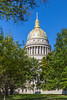 The State Capitol building in Charleston, West Virginia, USA.