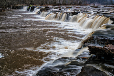 Sandstone Falls - Wide View