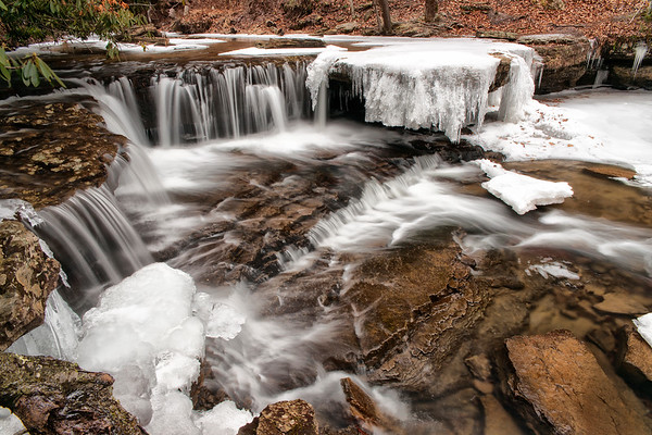 Winter - Mash Fork Falls