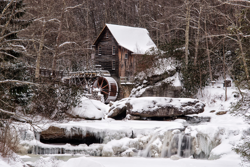 Winter - Glades Creek Grist Mill