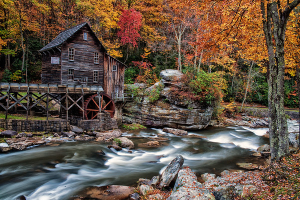 Fall - Glades Creek Grist Mill