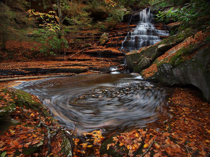 Un-Named Falls on Laural Creek