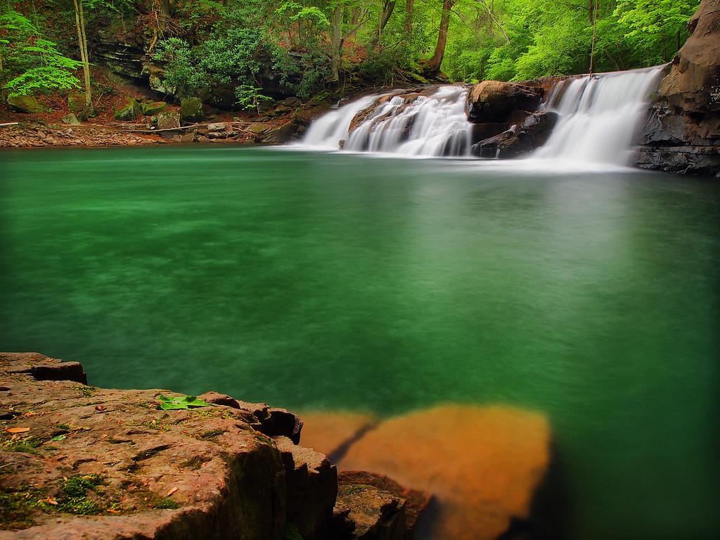 Lower Falls On Glade Creek - 2