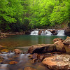 Lower Falls On Glade Creek #3