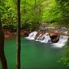 Lower Falls On Glade Creek #1
