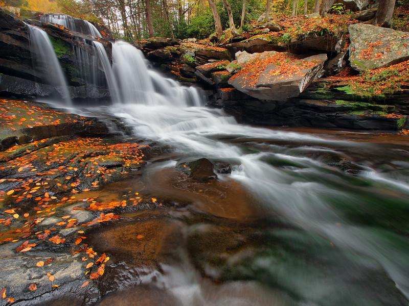 Dunloup Creek Falls - 4