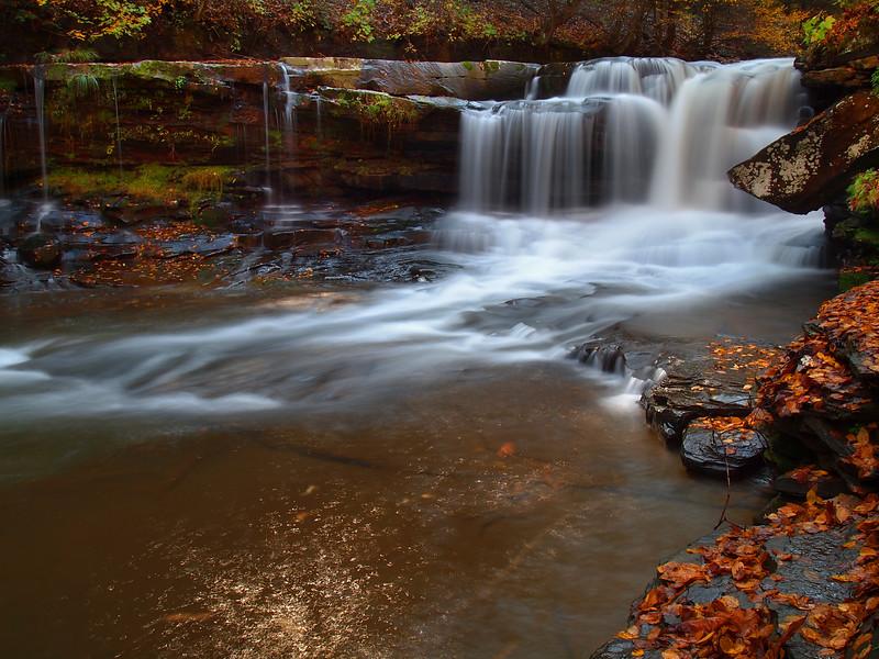 Dunloup Creek Falls - 3