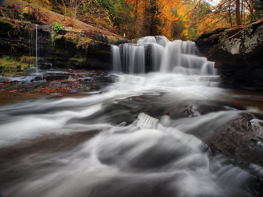 Dunloup Creek Falls - 2