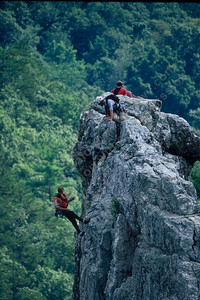 seneca rocks climbers